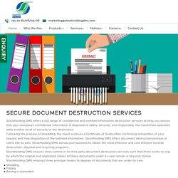 Paper Shredding Services in Mumbai