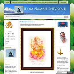 Shri Ganesha Puraanam « Jai Guru Dev