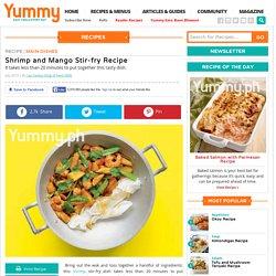 Shrimp And Mango Stir-fry Recipe