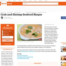 Crab and Shrimp Seafood Bisque Recipe