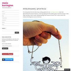 shrinky dink jewelry – girls of the sea