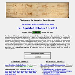 The Shroud of Turin Website