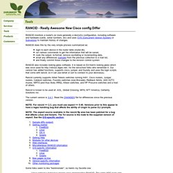 Networks, Inc. - RANCID