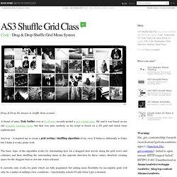 AS3 Shuffle Grid Class › Drag & Drop Shuffle Grid Menu System