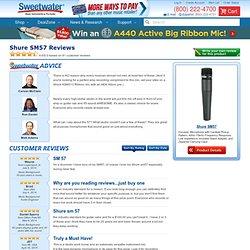 Shure SM57 Reviews