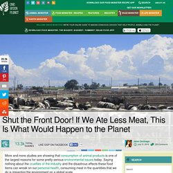 Shut the Front Door! If We Ate Less Meat, This Is What Would Happen to the Planet