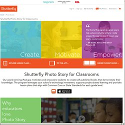 Shutterfly Photo Story for the Classroom
