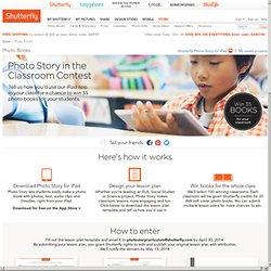 Win Shutterfly Photo Books for the Whole Classroom
