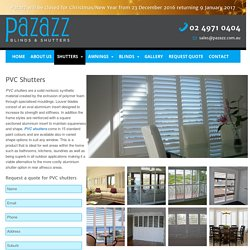 Inside Window Shutters - pazazz.com.au