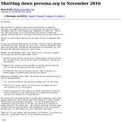Shutting down persona.org in November 2016