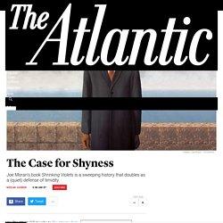 Shyness: A (Quiet) Cultural History