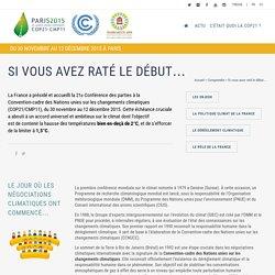 La COP 21 selon elle-même