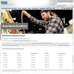 SIA Snow Sports Fact Sheet