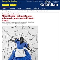 Mary Sibande – poking at power relations in post-apartheid South Africa