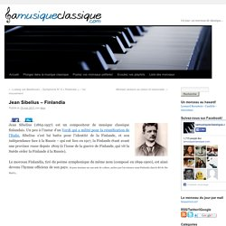 Jean Sibelius – Finlandia
