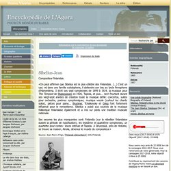 Sibelius Jean - agora.qc.ca