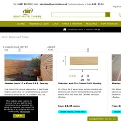 Siberian Larch - Southgate Timber