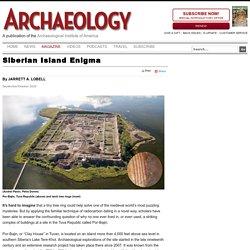 Siberian Island Enigma