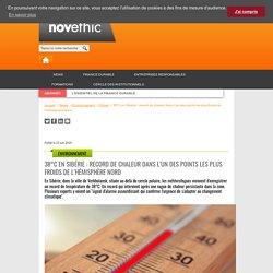 38°C en Sibérie : record de chaleur dans l'un des points les plus froids de l'hémisphère Nordsans titre