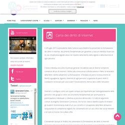 SIC - Carta dei diritti di internet