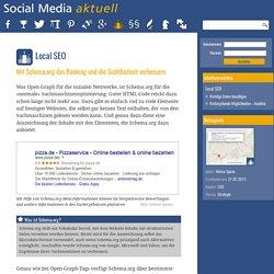 Local SEO: Mit Schema.org das Ranking und die Sichtbarkeit verbessern - SOCIAL-MEDIA-AKTUELL