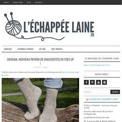 Sichuan, nouveau patron de chaussettes en toes up