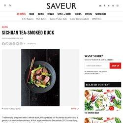 Sichuan Tea-Smoked Duck