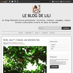 Sicile, jour 7 : Catane, une dernière fois - Le blog de Lili