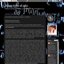 Javier Sicilia: Carta abierta a políticos y criminales