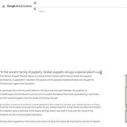 Sicilian Puppets - Google Arts & Culture