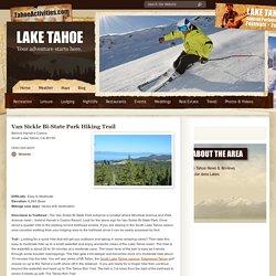 Van Sickle Bi-State Park Hiking Trail