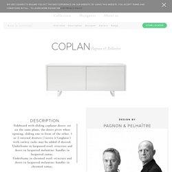 COPLAN, Sideboards Designer : Pagnon & Pelhaître