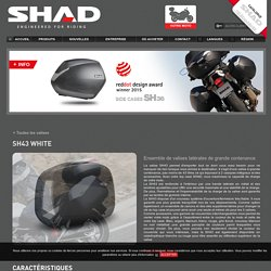 SideCases - Shad - Engineered for riding