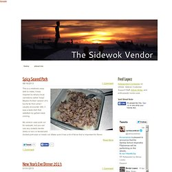 The Sidewok Vendor - The Sidewok Vendor