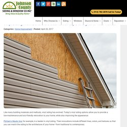 Vinyl Siding From Different Sides: Which Style Is Right For Your Home?