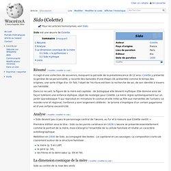 Sido (Colette)