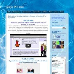 Bästa sidorna för färdiga digitala prov/övningar och verktyg för att skapa egna