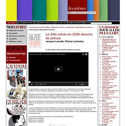 Le XXe siècle en 2000 dessins de presse