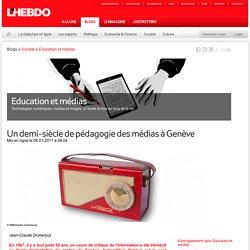 Un demi-siècle de pédagogie des médias à Genève