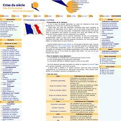 Crise du siècle Présentation de la rubrique > La France
