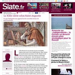 Le XXIe siècle selon Saint-Augustin