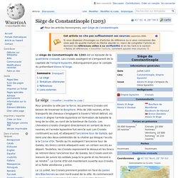 Siège de Constantinople (1203)