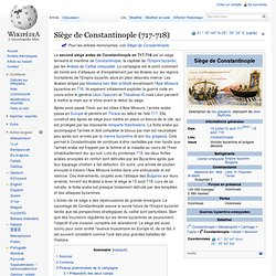 Siège de Constantinople (717-718)