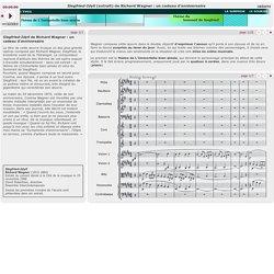 Siegfried-Idyll de Richard Wagner : un cadeau d'anniversaire
