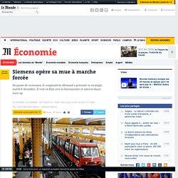 Siemens opère sa mue à marche forcée