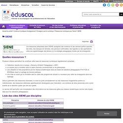 SIENE Edition numérique éducative (éduscol)