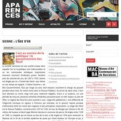 Sienne : l'âge d'Or – Aparences: Histoire de l'Art et actualité culturelle