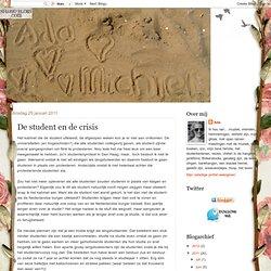 De student en de crisis