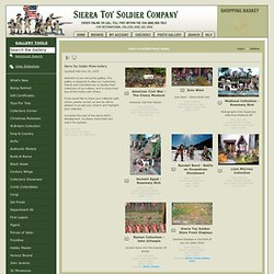 Sierra Toy Soldier Photo Gallery