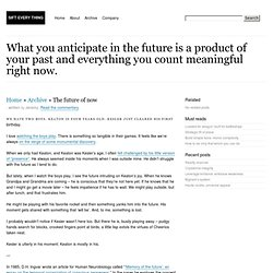 SIFT EVERY THING » » Future of Now